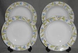 Set (4) Dansk Alsace Pattern Rimmed Soup Bowls - $31.67