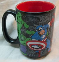 "Disney Store MARVEL CHARACTERS THE AVENGERS 4"" CERAMIC MUG NEW Iron Man ... - $19.80"