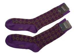 Alfani Men's Socks 2-Pair Value Pack Cubist Grid Passion Purple $15.96 - $6.38