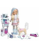 Nancy Bambola Nancy un Giorno Di Salvataggio IN L' Neve Con Sua Husky (F... - $342.14