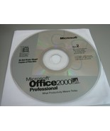 Microsoft Office 2000 Professional for Windows - Disc 2 Only!!! - $7.91