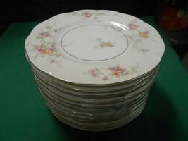 "Beautiful Theodore Haviland Made In America...12 BREAD-SALAD-DESSERT Plates 7.5"" - $63.94"