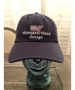 Vineyard Vines Navy Blue Embroidered USA FLAG Whale Dad Hat Cap Baseball... - $27.72