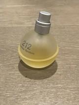 VINTAGE Used 212 by Carolina Herrera EDT for Women 15ml Of 30ml Old Formula - $30.00