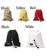 Backpack Travel Pouch Gym Pack Canvas Storage Bag Sack Drawstring Bags T... - $19.80
