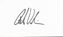 Peter Vidmar Signed 3x5 Index Card USA Olympic Gold Medalist - $18.58