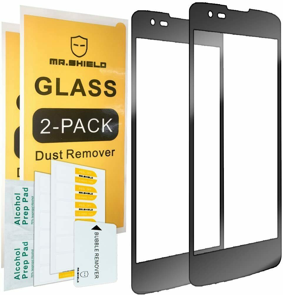 Primary image for 2 Pack Mr.Shield for LG Treasure LTE 4G Tempered Glass Full Screen Protector