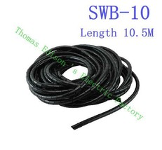 band SWB-10 diameter 10mm About 10M Length Black casing Cable Sleeve Winding pip - $15.95