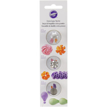 Decorating Tip Set 3/Pkg-XL - Star #1M, Flower #2D - $17.78