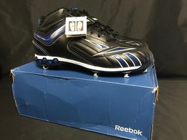 NWB Reebok Men Football Turf Shoe cleats NFL Full BLitz KFS II H D  Size... - $14.01
