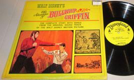 "Walt Disney's ""The Adventures of Bullwhip Griffin"" 1967 Soundtrack LP DI... - $6.79"