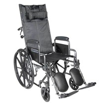 Drive Medical Silver Sport With Leg Rests and Desk Arms 20'' - $343.85