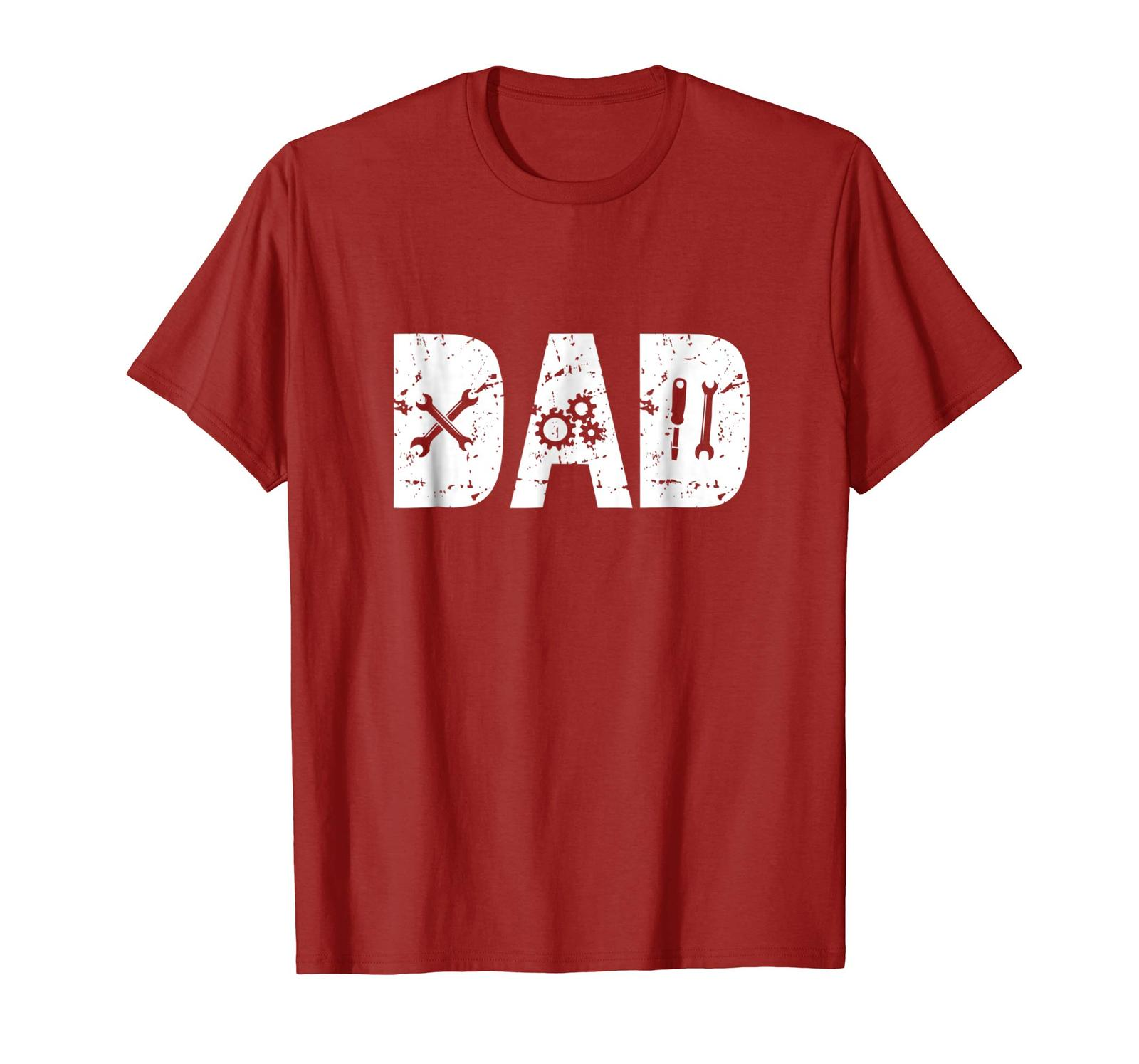 Dad Shirts - Funny Dad Gift Mechanic Shirts for Men Fathers Day 2018 Tee Men image 2