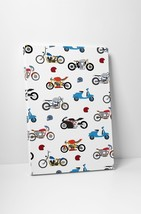 """Bike Collage Motorcycle Pop Art Gallery Wrapped Canvas Print. 30""""x20 or 20""""x16"""" - $42.52+"""