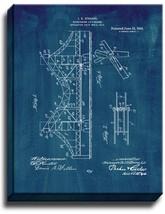 Suspension Lift-bridge Patent Print Midnight Blue on Canvas - $39.95+