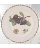 ROSINA QUEENS HOOKERS FRUIT DINNER PLATE PLUM - $24.74