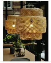 IKEA SINNERLIG Pendant Lamp, Bamboo - $98.99