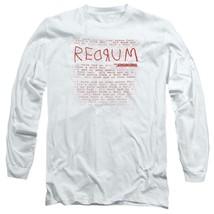 The Shining t-shirt retro 80's horror movie long sleeve graphic tee WBM563 image 1