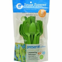 Preserve Cutlery Apple Green 24 Ct 4 Pack - $19.42