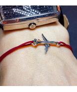 Airplane bracelet, airplane jewelry, flight attendant, airplane charm - $29.00