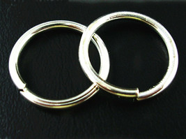 30pc 16mm silver finish gauge 16 jump ring-8293a - $1.00