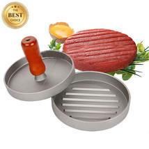 Hamburger Meat Shaper Patties Manual Maker Burger BBQ Press Kitchen Dini... - $14.01
