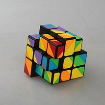 YongJun 3x3 Magic Speed Cube Rainbow Color Inequilateral 3D Puzzle Cube ... - $9.80