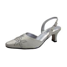 FLORAL Alma Women's Wide Width Open Shank Dress Slingback Shoes - $39.95