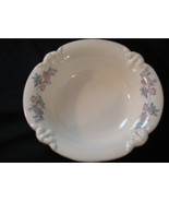 Haeger Bowl with Purple Flowers - $20.50