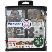 Dremel EZ725 70-Piece EZ All-Purpose Accessory Storage Kit - $87.43