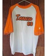 Vintage Tennessee Volunteers Team Starter Raglan Crewneck Shirt Sz L Large - $27.71