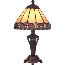 Dale Tiffany 8034/640 Peacock Accent Lamp, Antique Bronze and Art Glass ... - $999.99