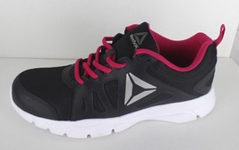 Reebok women' memory teach trainfusion nine 2.0 black pink raining shoes... - $31.39