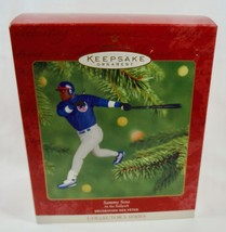 Hallmark 2001 At the Ballpark # 6 Sammy Sosa Chicago Cubs MLB Baseball O... - $9.95