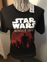 NEW Star Wars Rogue 1 Small T Shirt Black W/tags - $4.80