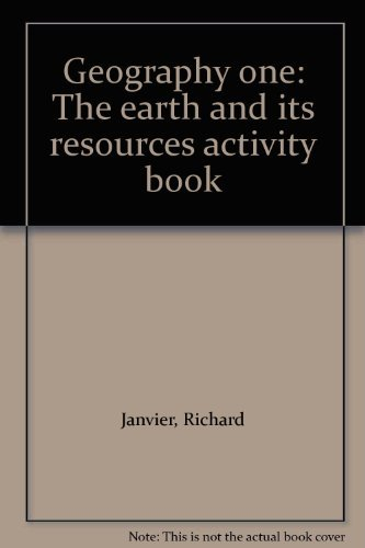 Primary image for Geography one: The earth and its resources activity book Janvier, Richard