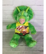 BABW Build a Bear Workshop Green Dinosaur Triceratops Stuffed Animal Plu... - $27.71