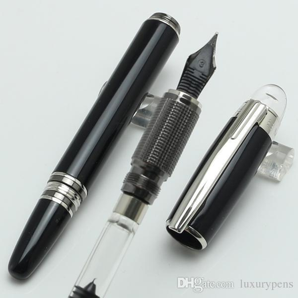 Luxury Germany Brand Pen mb-sw Black Resin Fountain Pen School Office Stationery
