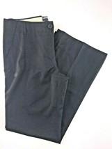 J.Crew Black Flat Front Lined Pinstripe Straight Leg Pants 8. 31x32 - $22.54