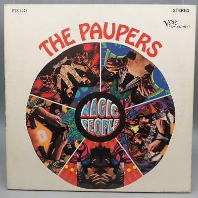 Clásico The Paupers Magic People Vinyl Record Album LP NM