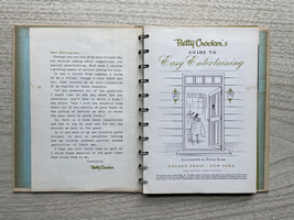 1959 Betty Crocker's Guide to Easy Entertaining - 1st Edition - hardcover image 3