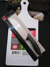 Mini Santoku Knife Royal Norfolk Cutlery Stainless Steel Blade withCutti... - $14.84
