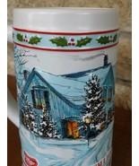 "Vintage Miller High Life Stein/Mug ""Christmas Winter Scene"" - Limited Ed... - $7.83"