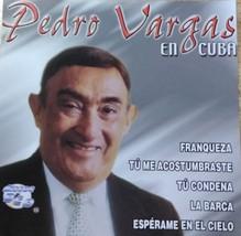 Pedro Vargas en Cuba CD - $4.95