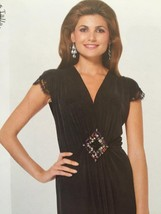 #Burda Sewing Pattern 6941 Misses Special Occassion Evening Dress Size 1... - $16.44