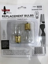 Lava Lamp 15 Watt Replacement Bulbs for 10.5 inch 12oz lamps - $8.50