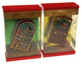 Songs & Memories Musical Ornaments Deck The Halls The Night Before Chris... - $15.99