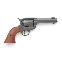 Re-Enactors Replica M1873 Black Finish Quick Draw Revolver Non-Firing Gun - $99.95