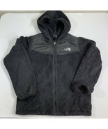 The North Face Jacket Fleece Hoodie Girls Large 14-16 Soft Coat TNF Dena... - $29.99