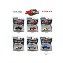 All Terrain Series 4, 6pc Set 1/64 Diecast Model Cars by Greenlight 35050 - $57.71